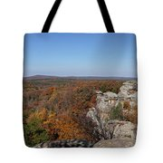 Camel Rock In Autumn Tote Bag