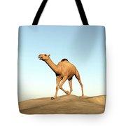 Camel Running - 3d Render Tote Bag
