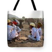 Camel Traders Pushkar Tote Bag