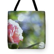 Camellia And Early Light Tote Bag