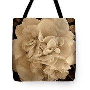 Camellia Sepia Tote Bag