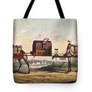 Camels And Litter Tote Bag