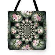 Cameo Bouquet Tote Bag