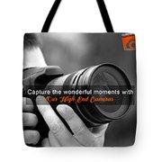 Camera On Rent Tote Bag