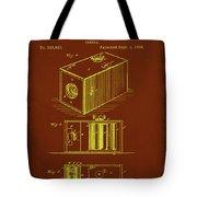 Camera Patent Drawing 1a Tote Bag