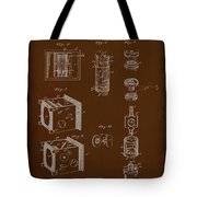 Camera Patent Drawing 2e Tote Bag