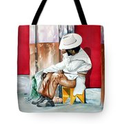 Camera Shy Tote Bag