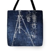 Camera Tripod Patent Tote Bag