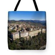 Camerino Italy - Aerial Image Tote Bag