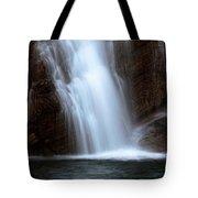 Cameron Falls In Waterton Lakes National Park Of Alberta Tote Bag
