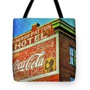 Cameron Patterson Hotel Tote Bag
