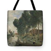 Camille Corot   Landscape At Arleux Du Nord Tote Bag