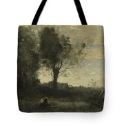 Camille Corot   The Wood Gatherer Tote Bag