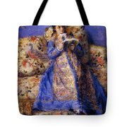 Camille Monet Reading 1872 Tote Bag