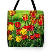 Camille's Tulips Tote Bag