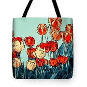 Camille's Tulips - Version 3 Tote Bag