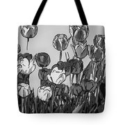 Camille's Tulips - Version 4 Tote Bag