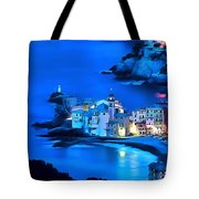 Camogli Sunrise - Camogli All'alba Paint2 Tote Bag