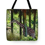 Camouflage Coat Tote Bag