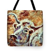 Camouflage Cow Art Tote Bag
