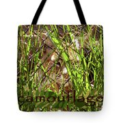 Camouflage Tote Bag by Methune Hively