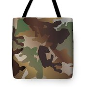 Camouflage Pattern Background  Clothing Print, Repeatable Camo G Tote Bag