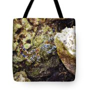 Camouflaged Crab Tote Bag