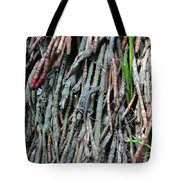 Camouflaged Lizard Tote Bag