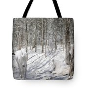 Camouflaged Tote Bag by Michele A Loftus