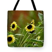 Camouflaged Perch Tote Bag
