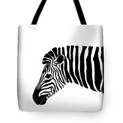 Camouflaged Profile Tote Bag