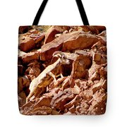 Camouflaged  Sun-drenched  Climb Tote Bag