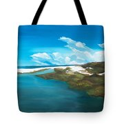 Camp Creek Tote Bag