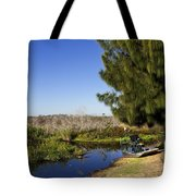 Camp Holly On The St Johns River In Florida Tote Bag