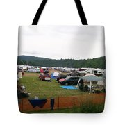 Camp Out Tote Bag