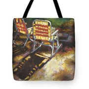 Camp Rocker Tote Bag
