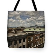 Campbell Avenue Rooftops Roanoke Virginia Tote Bag