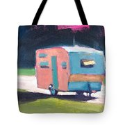 Camped Out Tote Bag