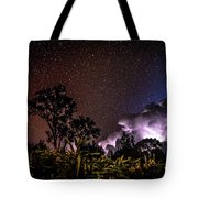 Camping On The Volcano Tote Bag