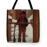 Can I Shovel Off The Snow ? Tote Bag