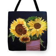 Can Of Sunflowers Tote Bag