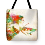 Can You Hear Me Now Tote Bag by Nikki Smith