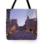 Canaanite Entrance Gate To El Megiddo Tote Bag