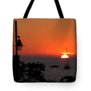 Canada 150th Birthday Sunset 4 Tote Bag