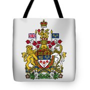 Canada Coat Of Arms Tote Bag