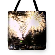 Canada Day 150 Lights 2 Tote Bag