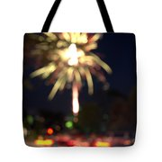 Canada Day 150 Lights 4 Tote Bag