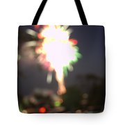 Canada Day 150 Lights 5 Tote Bag