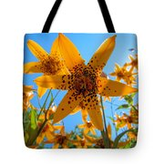 Canada Lily Tote Bag
