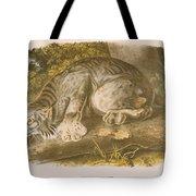 Canada Lynx Tote Bag